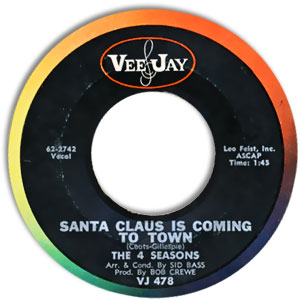 Santa Claus Is Coming To Town/ Christmas Tears