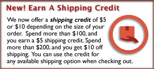 Classic 45s Shipping Credit: Earn A $5 or $10 Credit on your Order