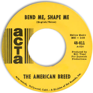 Bend Me, Shape Me/ Mindrocker
