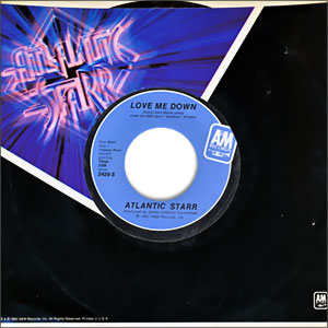 Classic Disco 45 Atlantic Starr Love Me Down Does It