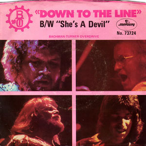 Down To The Line/ She's A Devil