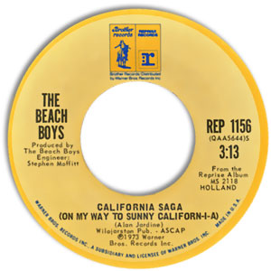 California Saga (On My Way To Sunny Californ-i-a)/ Funky Pretty