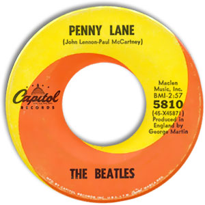 Penny Lane/ Strawberry Fields Forever
