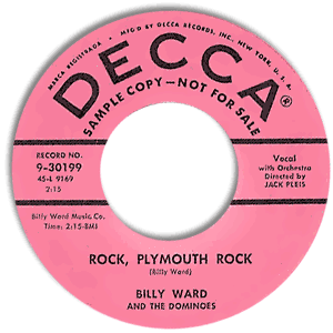 Rock, Plymouth Rock/ Til Kingdom Come