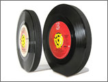 Bookends 45 rpm records