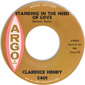 On Bended Knees/ Standing in the Need of Love