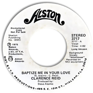 Baptize Me In Your Love
