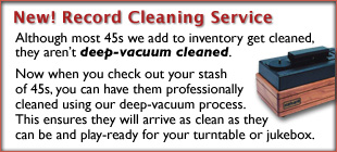 Classic 45s Record Cleaning Service