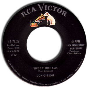 Don Gibson - Sweet Dreams/ The Same Street