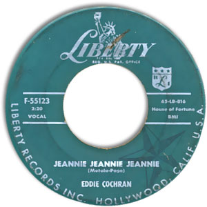 Jeannie Jeannie Jeannie/ Pocketful of Hearts