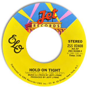 Hold On Tight/ When Time Stood Still