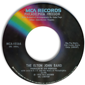 Philadelphia Freedom/ I Saw Her Standing There