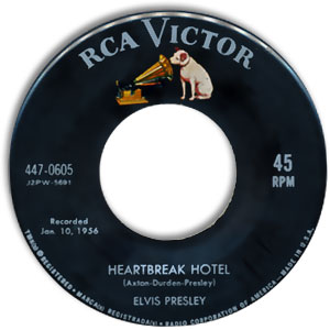 Elvis Presley - Heartbreak Hotel/ I Was The One Album