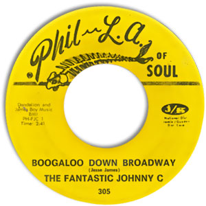 Boogaloo Down Broadway/ Look What Love Can Make You Do