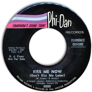 Kiss Me Now (Don't Kiss Me Later)/ We're Not Old Enough