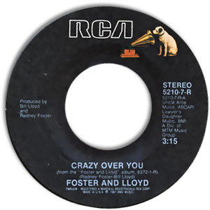 Crazy Over You/ The Part I Know By Heart