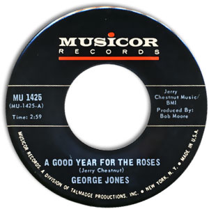 A Good Year for the Roses/ Let A Little Loving Come In