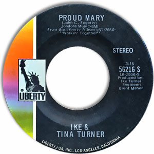 Proud Mary/ Funkier Than A Mosquita's Tweeter