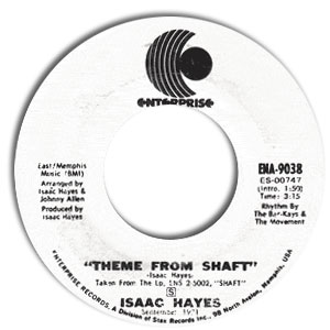 Theme From Shaft/ Cafe Regio's