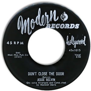 Don't Close The Door/ By My Side