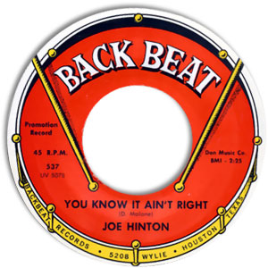 You Know It Ain't Right/ Love Sick Blues