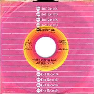 Once In A Lifetime Thing/ Wild Rose of Virginia