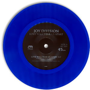 Classic 45 Record: Love Will Tear Us Apart by Joy Division (Cleopatra 3673, 1980)