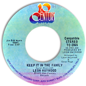 Keep It In The Family/ Long As There's You (I Got Love)