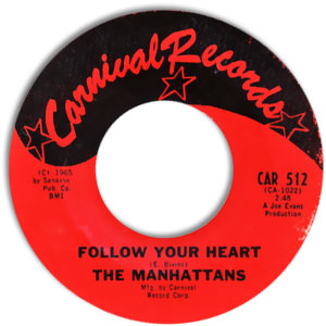 Follow Your Heart/ The Boston Monkey