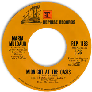Midnight At The Oasis/ Any Old Time
