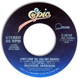 Don't Stop 'Til You Get Enough/ I Can't Help It