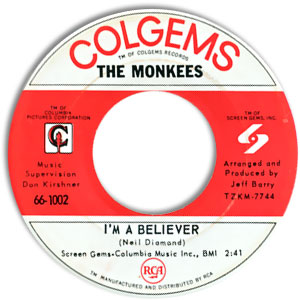 I'm A Believer/ (I'm Not Your) Steppin' Stone