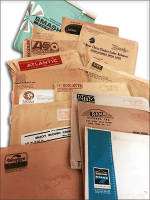 Louise Neal collection: Shipping packages for the promo 45s