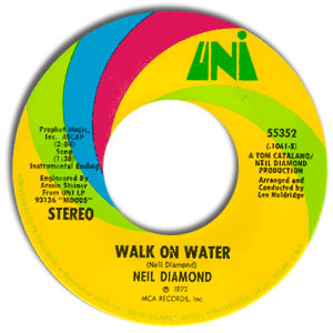 Walk on Water/ High Rolling Man