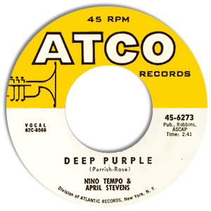 Deep Purple/ I've Been Carrying A Torch for You So Long That I Burned a Great Big Hole in My Heart