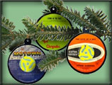 Ornaments 45 rpm records