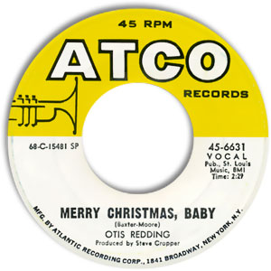 merry christmas baby otis redding - Otis Redding White Christmas