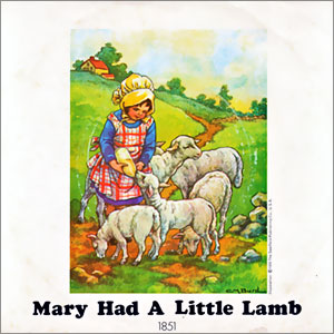Mary Had A Little Lamb/ Little Woman Love