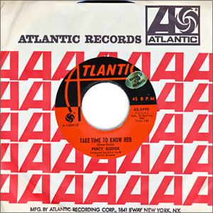 Classic Deep Soul 45 Percy Sledge Take Time To Know