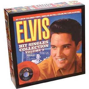 Classic 45 Record: Hit Singles Collection Volume #2 by Elvis Presley (Collectables 0104, 2001)