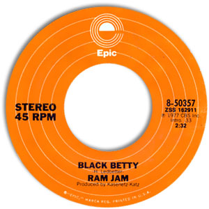 Black Betty/ I Should Have Known