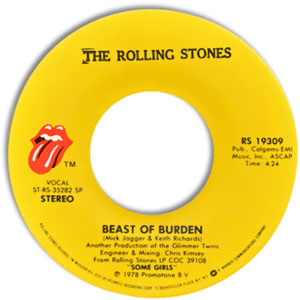 Beast Of Burden/ When The Whip Comes Down