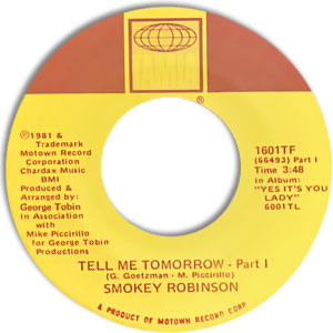 Tell Me Tomorrow - Part I/ Part II