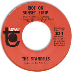 Riot On Sunset Strip/ Black Hearted Woman