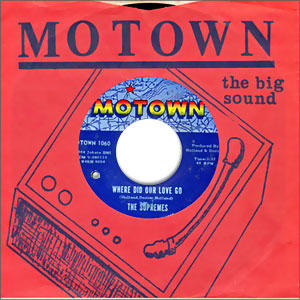Classic Northern Soul Motown Style 45 The Supremes