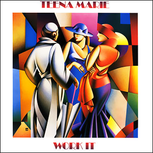 Classic 45 Record: Work It by Teena Marie (Epic 07902, 1988)