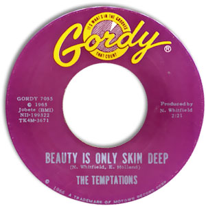 Beauty Is Only Skin Deep/ You're Not An Ordinary Girl