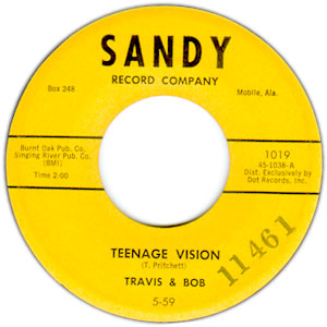 Little Bitty Johnny/ Teenage Vision