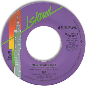 New Year's Day/ Treasure (Whatever Happened To Pete The Chop)