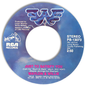 Country 45 Waylon - Get Naked With Me / Just To Satisfy
